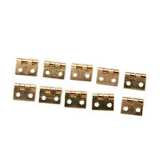 20x Mini Small Metal Hinge for 1/12 House Miniature Cabinet  Furniture