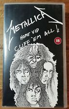 Metallica Home Vid Cliff 'Em All VHS