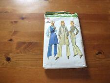Vintage Simplicity Pattern 9748-Pull-robe, pantalon & chemisier