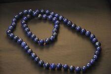 Authentic vintage Natural Lapis Lazuli Necklace very pretty