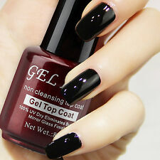 Gellen 8 ml Non Cleansing UV Nail Gel Polish Dry Mirror Finisher Shiny Top Coat