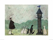 DOG ART PRINT An Audience with Sweetheart Sam Toft 12x8