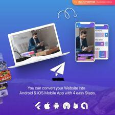Personal Web To App Convertor Admin Dashboard Panel