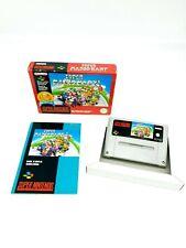 Super Nintendo / SNES Super Mario Kart PAL [FAH] Classic Serie Complete