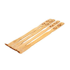 "18""Bamboo Telescopic Back Scratcher Extendable Wooden Back Itching Self Massager"