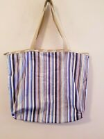 Le SportSac Beachy Striped Shoulder Tote Bag Shopper