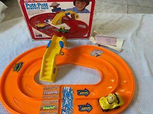 Mattel Putt bumpety race Vintage 1978 race Track in Box