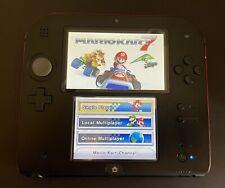 Nintendo 2DS Mario Kart 7 Bundle 4GB Handheld System (Crimson Red)
