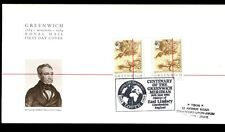 GB FDC 1984 Greenwich, East Lindsey H / S #C 5146
