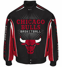 Chicago Bulls Men's NBA G-III Burst Twill Jacket - Size Medium Free Ship