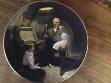 "Norman Rockwell ""Grandpas Treasure Chest"" Edwin Knowles Collector Plate"