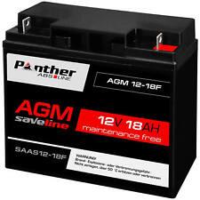 Panther Akku AGM 18Ah 12V Bleiakku USV Batterie ersetzt Gelakku 20Ah 19Ah 17Ah