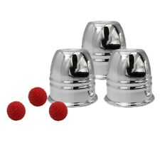 New Magic Trick Cups And Red Balls Penetration Close-Up Street Props