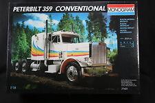 YF002 MONOGRAM 1/16 maquette camion 77401 Peterbilt 359 Conventional truck us