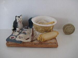 RARE ORIGINAL COLOUR BOX CAT PETER FAGAN HOME SWEET HOME HS318 GOURMET CAT