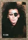 PETE BURNS - 1987 full page UK magazine annual poster DEAD OR ALIVE