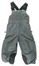 REI Bib Snow Pants Gray Insulated Overalls, Toddler 18 months