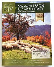 1 NEW 2016 - 2017 KJV Standard Lesson Commentary Large print back issue