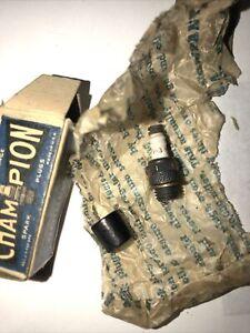 NOS Vintage Champion V-3 V3 spark plug for model airplane and car engine .
