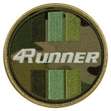Toyota 4Runner Camo Circle Embroidered Patch