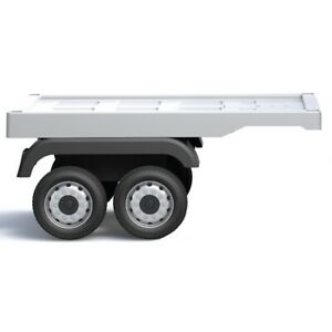 Trailer for Mercedes Actors Truck Electric Ride On Toy - White