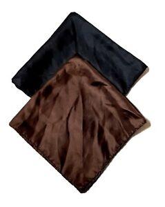Vintage  ASHEAR SILK Pocket Handkerchiefs (Lot of 2)