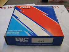 EBC BRAKE SHOES 603 SUZUKI KAWASAKI HYOSUNG MANY MODELS