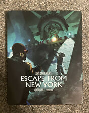 Escape from New York (Blu-ray Disc, 2017, 2-Disc Set, SteelBook Limited Edition)