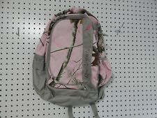 Remington backpack - gray pink camouflage