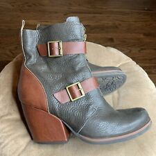 Korks by Kork Ease Richards Boots Sz 9 M Gray & Brown