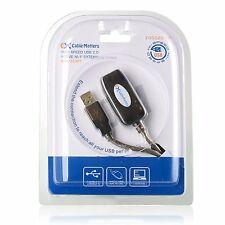 Cable Matters Hi-SPeed USB 2.0 Type A Male to Female Active Extension Cable 10m
