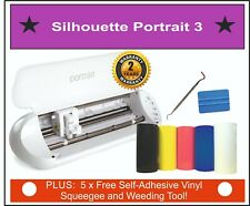 Silhouette Portrait 3 Cutter, Monogram Initials,  79 Freebies! Next Day Delivery