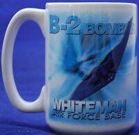 United States Air Force B-2 Bomber Whiteman Base Missouri Coffee Mug Tankard