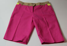 Damen Fuchsia Pink Tommy Hilfiger Shorts Gr. 4 (Tommy) 6 UK, XS Taille 28-30""