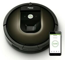 iRobot Roomba 980 Black Robotic Vacuum Cleaner *REFURBISHED*  Robot Vacuum