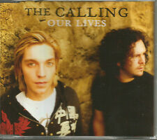 THE CALLING Our Lives w/ ACOUSTIC & LIVE & VIDEO CD single SEALD THE CLASH Cover