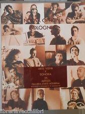 NUOVA OFFICINA BOLOGNESE ARTE VISIVA E SONORA 25 artisti Catalogo Galleria di da