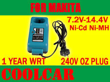 Battery Charger for Makita Maktec  9.6V 12V 14.4V Ni-Cd Ni-MH 240V drill OZ