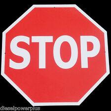 Vintage Replica Tin Metal Stop sign man cave wall shop halt hexagon street 98392