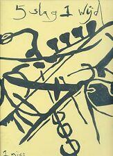 5 SLAG 1 WIJD 5 hit 1 miss RARE JAZZ ALBUMM HOLLAND 1986 EX LP
