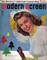 1949  (Feb.) Modern Screen magazine, Esther Williams, Bing and Bob Crosby