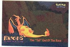 POKEMON MINT English TOPPS Card #50 CHARIZARD METAL HOLO, TAIL END OF THE RACE