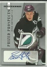 2005/6 HOT PROSPECTS RYAN GETZLAF ROOKIE RC AUTO 4 CLR PATCH 273/349