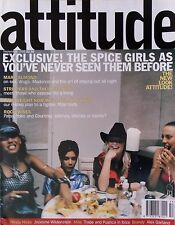 SPICE GIRLS EXCLUSIVE * ATTITUDE * SEPT '98 * HTF! * MARC ALMOND * GAY INTEREST