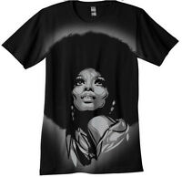 Diana Ross T-shirt -  Hand airbrushed with stencils