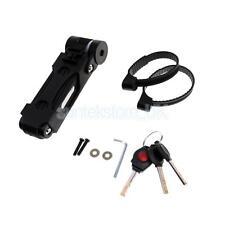 Anti-cut Safety Folding Bike Bicycle Lock Ultra Strong Chain Lock Keys Black