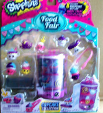 SHOPKINS FOOD FAIR CUPCAKE COLLECTION SET - SWEET DISPLAY CASE