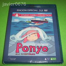 PONYO EN EL ACANTILADO STUDIO GHIBLI EDICION ESPECIAL BLU-RAY + DVD