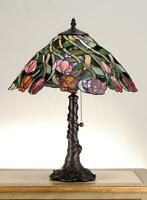 Meyda Tiffany 82315 Stained Glass / Tiffany Accent Table Lamp - MultiColor