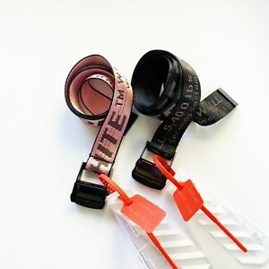 Off White Belt   NEW Colors   47 inch Belt   SHIPS FAST from US
